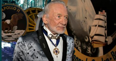 Buzz Aldrin Apollo 11 Total Solar Eclipse
