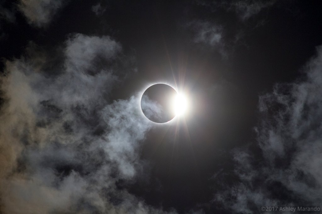 Diamond Ring in a Cloudy Sky - Ashley Marando