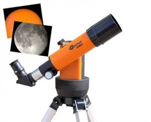 Telescopes for eclipse viewing: iOptron Solar 60 GPS telescope