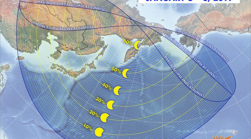 How to read an eclipse map