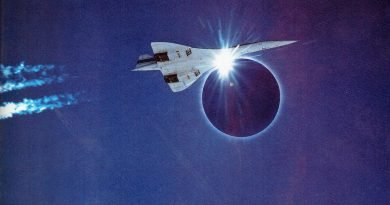 The supersonic eclipse Concorde's 74-minute Totality