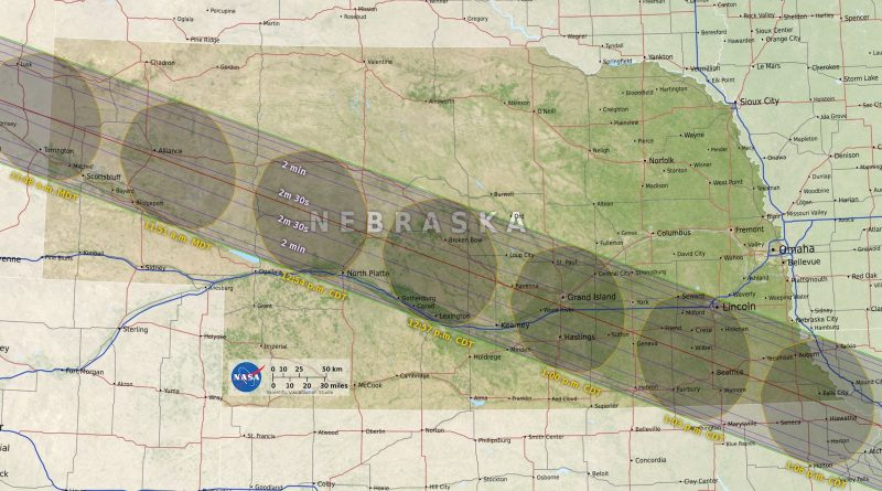 Why school-kids and eclipse-chasers will head to the edge on August 21