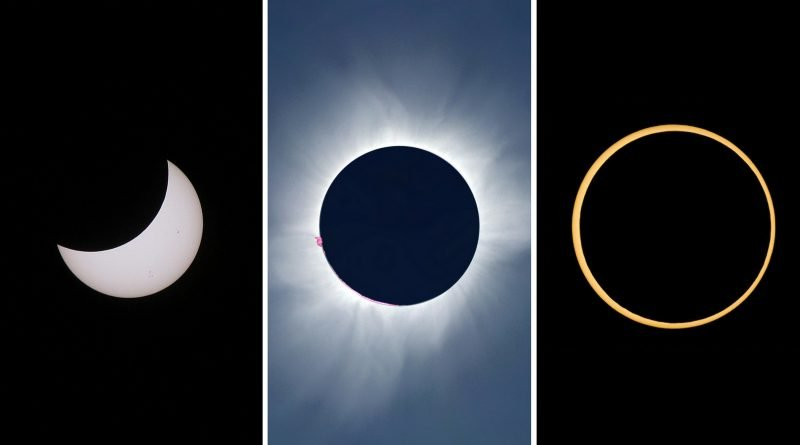What Is A Solar Eclipse The Four Types Of Solar Eclipse