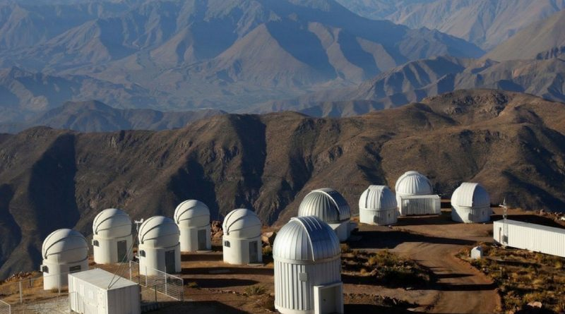 Chile's Giant Telescopes Eclipse 2019