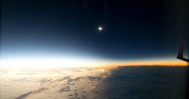 Dreamliner to 'chase totality' during Great South American Eclipse (Credit – Glenn Schneider and Geoff Simms)
