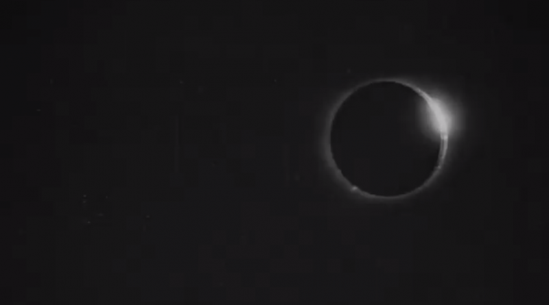 first film Total Solar Eclipse